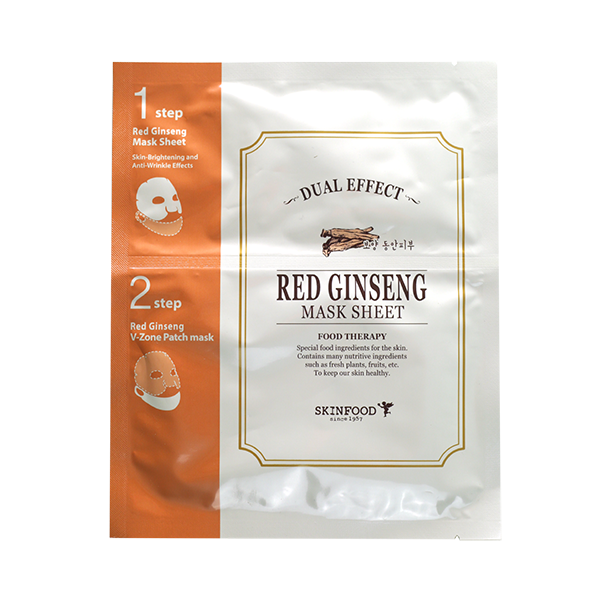 Dual Effect Mask Sheet [Red Ginseng]