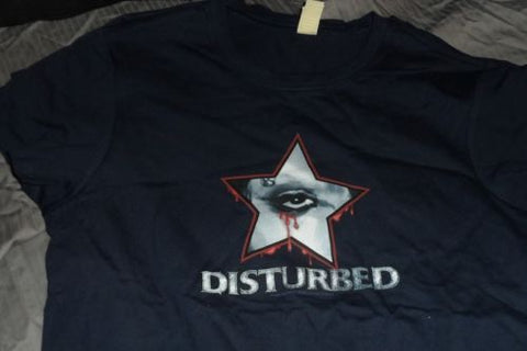 DISTURBED - Blood Tears Baby Doll t-shirt ~NEVER WORN~ XL