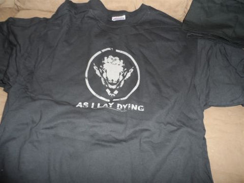 AS I LAY DYING - 2005 Goat Head T-shirt ~Never Worn~ L