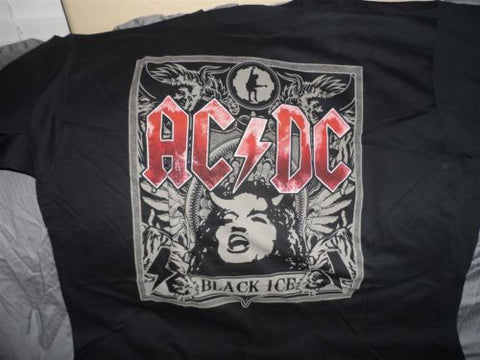 AC/DC - Black Ice T-Shirt ~BRAND NEW, NEVER WORN~ 2XL