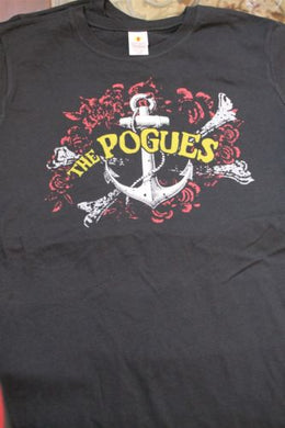 THE POGUES - Anchor Baby Doll Women's T-Shirt ~Never Worn~ Large