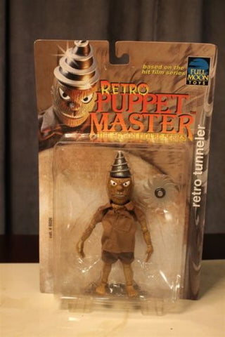 Retro Tunneler Full Moon Puppet Master Action Figure ~Original Packaging