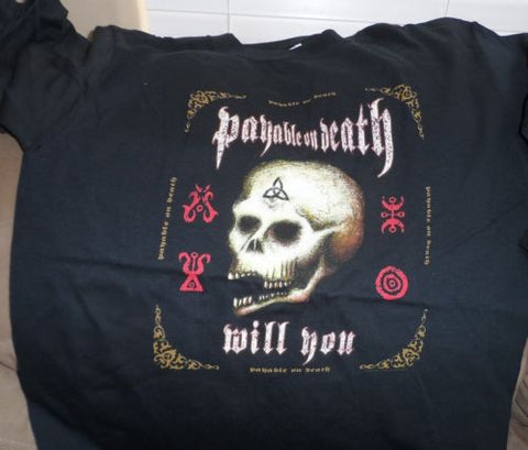 "PAYABLE ON DEATH (P.O.D.) - 2003 ""Will You"" w/ tour cities T-Shirt ~Never Worn~M"