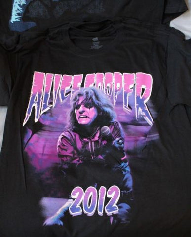 ALICE COOPER - 2012 VIP T-shirt ~Never Worn~ Medium ##