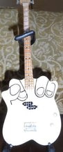 Load image into Gallery viewer, F.U. Middle Finger Replica Bass Guitar 1:4 Scale w/ Strap & Stand