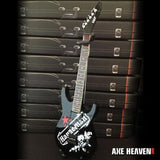 JEFF HANNEMAN (Slayer)- Red Star SEIT 1:4 Scale Replica Guitar ~Axe Heaven