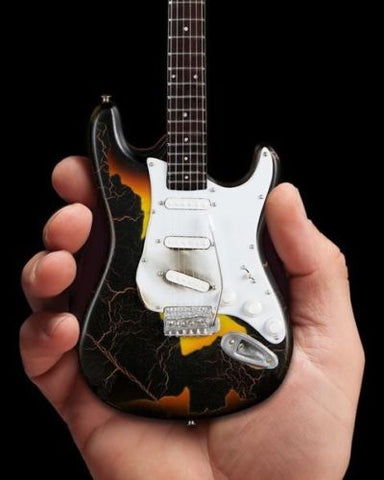 BURNT FENDER STRATOCASTER- 1:4 Scale Replica Guitar ~Axe Heaven