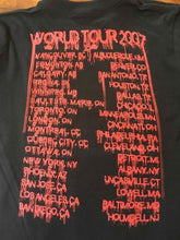 Load image into Gallery viewer, HEAVEN & HELL - 2007 Tour T-shirt w/ Cities~Never Worn~ Small