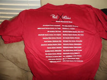 Load image into Gallery viewer, PHIL COLLINS- 2004 Red First Final Farewell Tour T-Shirt ~Never Worn~ S