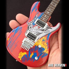Load image into Gallery viewer, JOE SATRIANI -Surfing With The Alien Replica Ibanez 1:4 Scale Guitar~Axe Heaven