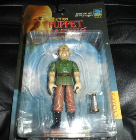 Full Moon Cyclops! Puppet Master Action Figure ~Mint on Card