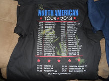 Load image into Gallery viewer, BON JOVI - 2013 North American Tour T-Shirt ~Never Worn~ XL