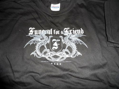 "FUNERAL FOR A FRIEND - ""Dragons"" T-Shirt ~Never Worn~ L / XL"