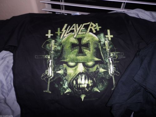 SLAYER - War Ensemble 2 sided T-Shirt ~NEVER WORN~ Small