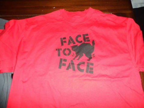 FACE TO FACE - Black Cat T-shirt ~Never Worn~ XL