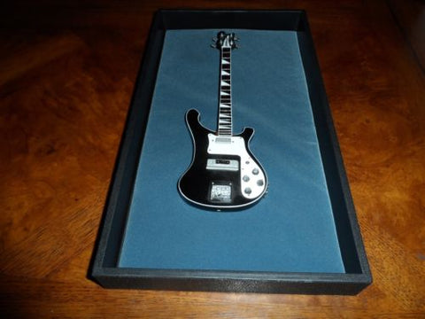 Miniature Guitar Display Case w/ Black or Gray Velvet Backing ~Stack or Hang