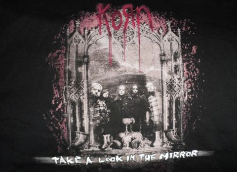KoRn - Take a Look in the Mirror T-Shirt ~Never worn~ L / XXXL