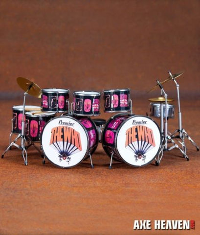 KEITH MOON (The Who) - Pictures of Lily 1:4 Scale Replica Drum Set ~Axe Heaven~