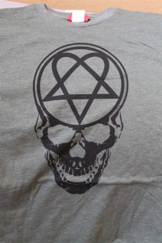 HIM - Heartagram and Skull T-shirt ~Never Worn~ S / M / L / XL