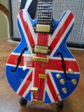 NOEL GALLAGHER - Union Jack Supernova 1:4 Scale Replica Guitar ~Axe Heaven
