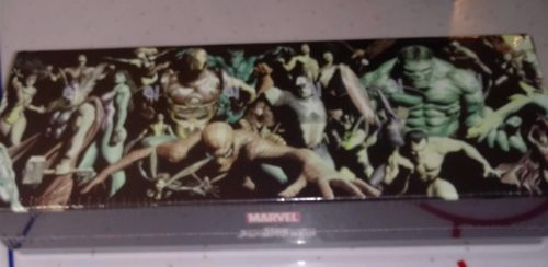 Upper Deck Marvel/Avengers VS System Alex Ross CCG Collector Deck Boxes ~Sealed