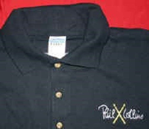 PHIL COLLINS - 2004 First Final Farewell Tour Polo ~Never Worn~ XL