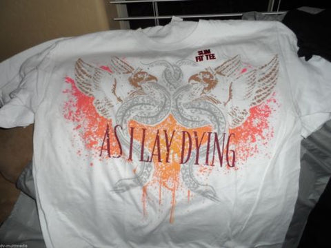 AS I LAY DYING - Multi-Color Slim Fit T-shirt ~Never Worn~ M L 2XL