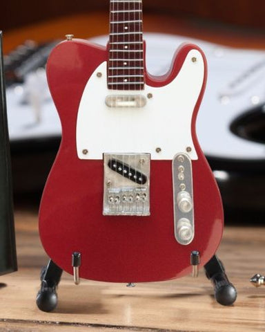 Fender Apple Red Telecaster 1:4 Scale Replica Guitar ~Axe Heaven~