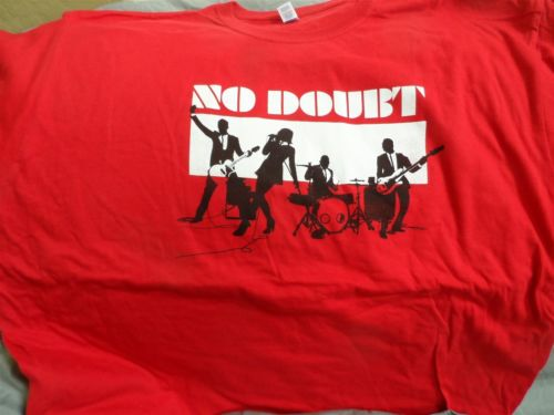 NO DOUBT - 2009 Summer Tour T-Shirt ~Never Worn~ XL