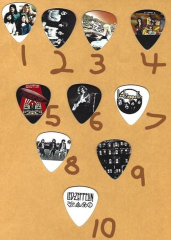 LED ZEPPELIN Graphic Guitar Pick ~Your Choice of Many~ BUY 3, GET 3rd FREE