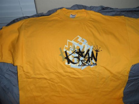 KoRn - Yellow Worldwide T-shirt ~Never Worn~ XXL