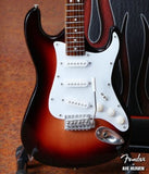 FENDER STRATOCASTER Sunburst 1:4 Scale Replica Guitar ~Axe Heaven