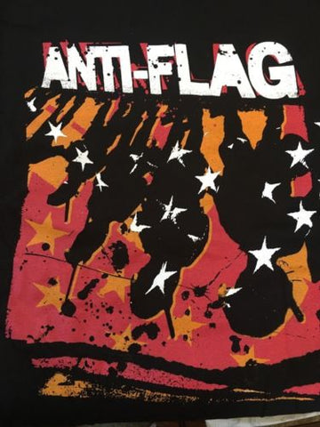 ANTI-FLAG - Police State Slim Fit T-shirt ~Never Worn~ XL ##