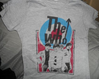 THE WHO - Distressed baby doll t-shirt Large
