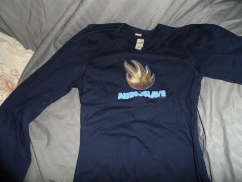 AUDIOSLAVE - Junior's Flame Long Sleeve t-shirt **LARGE**