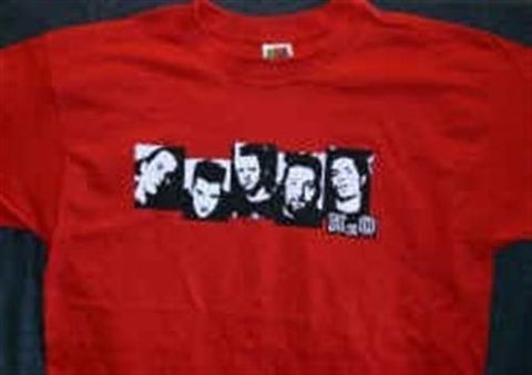 H2O - 2002 Red Square T-shirt ~Never Worn~ XL ##