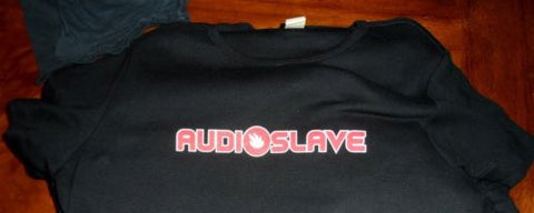 AUDIOSLAVE - Red Logo Baby Doll Women's t-shirt ~Never Worn~ LARGE