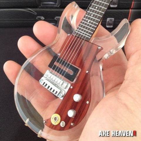 KEITH RICHARDS - 1:4 Scale See-thru Dan Armstrong Replica Guitar ~Axe Heaven
