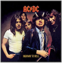 Load image into Gallery viewer, AC/DC - Highway To Hell Album Cover Framed Glass Picture 12.5 x 12.5 x 1.5 ~New~