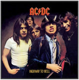 AC/DC - Highway To Hell Album Cover Framed Glass Picture 12.5 x 12.5 x 1.5 ~New~