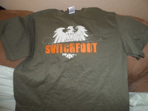 SWITCHFOOT - T-Shirt with printed sleeve ~Never Worn~ M