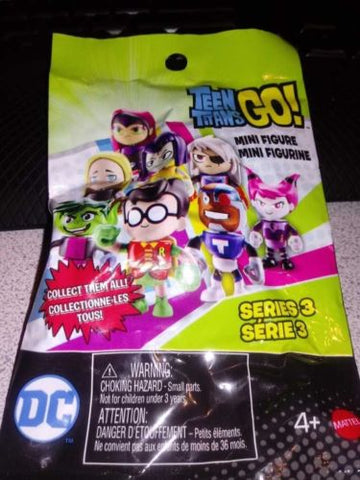 "2/"" Mini Figure Full Set of 8 ~Series 3~ Teen Titans GO"