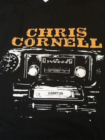 CHRIS CORNELL - Carry On North American 2007 Tour T-Shirt MEDIUM