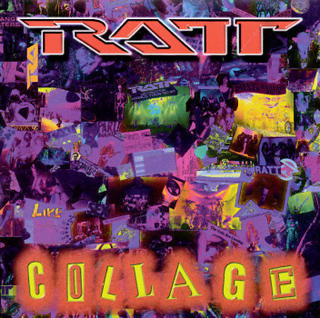 RATT - Collage CD, 1997, Derock Records ~Still Sealed, FREE SHIPPING~