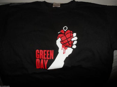 GREEN DAY - 2005 American Idiot w/ dates Baby Doll T-Shirt ~Never Worn~ M