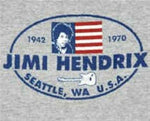 JIMI HENDRIX - 1942-1970 Long Sleeved T-shirt ~Never Worn~ XXL