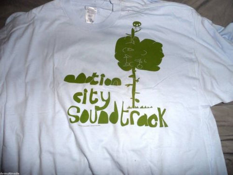 MOTION CITY SOUNDTRACK - Tree/Penguin T-Shirt ~New~ 2XL