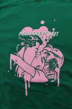 Load image into Gallery viewer, PERMANENT ME! - Two sided Green T-shirt ~Never Worn~ L ##