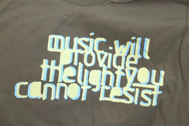 R.E.M. - 2004 Music Will Provide the Light You Cannot Resist T-Shirt ~Small~