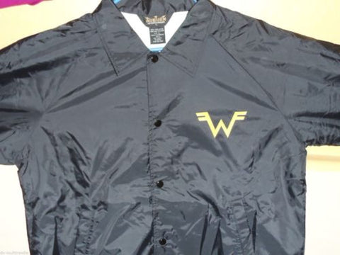 WEEZER - Collared Windbreaker Printed front and back ~BRAND NEW~ L